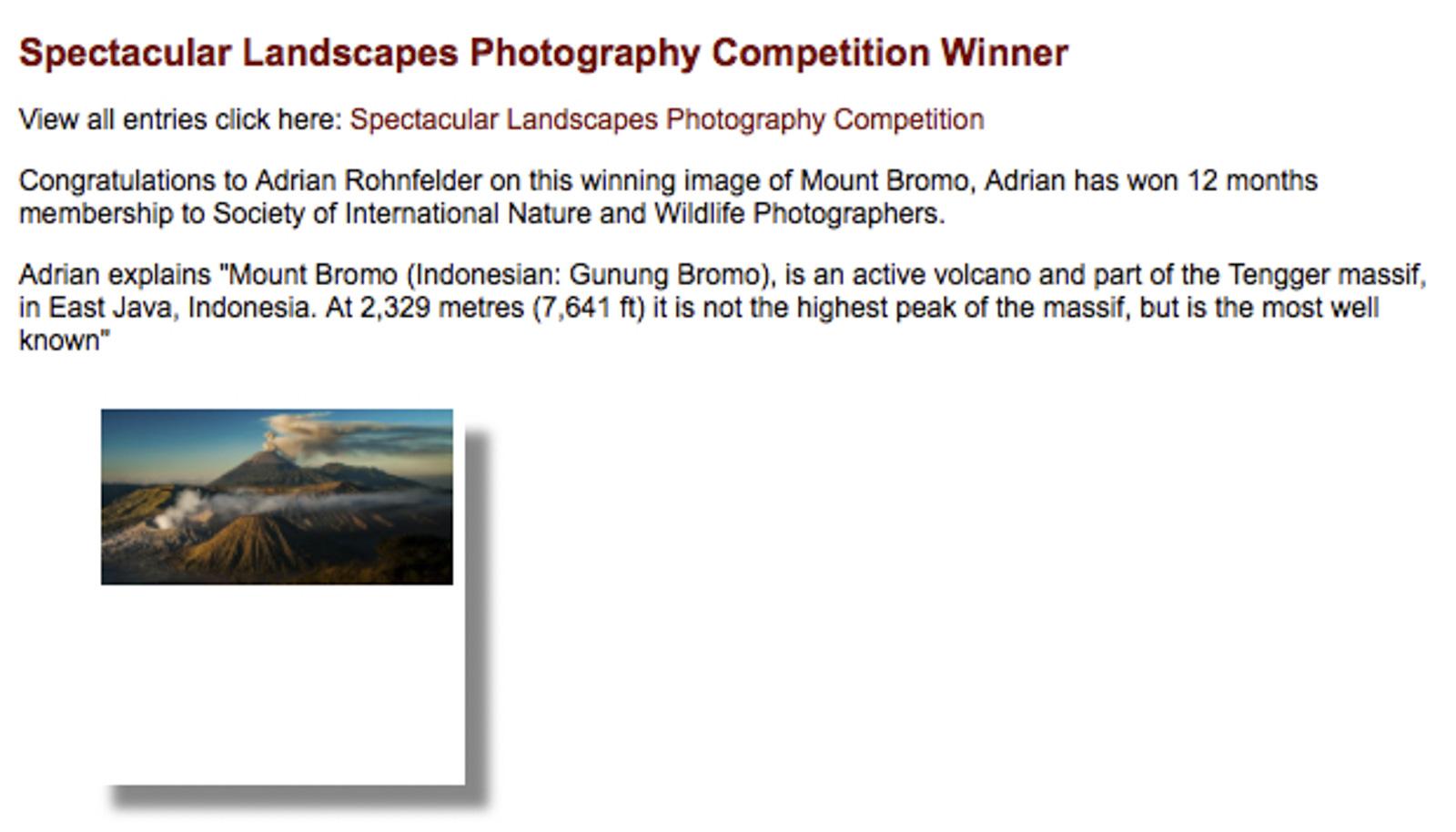 SINWP Fotowettbewerb