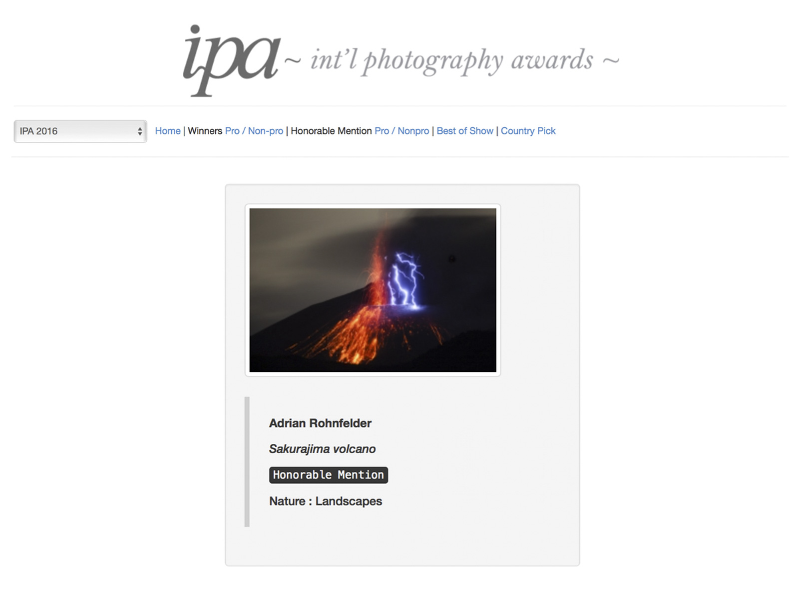 IPA Awards