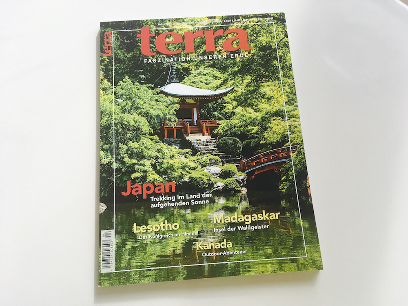 My article about Japan