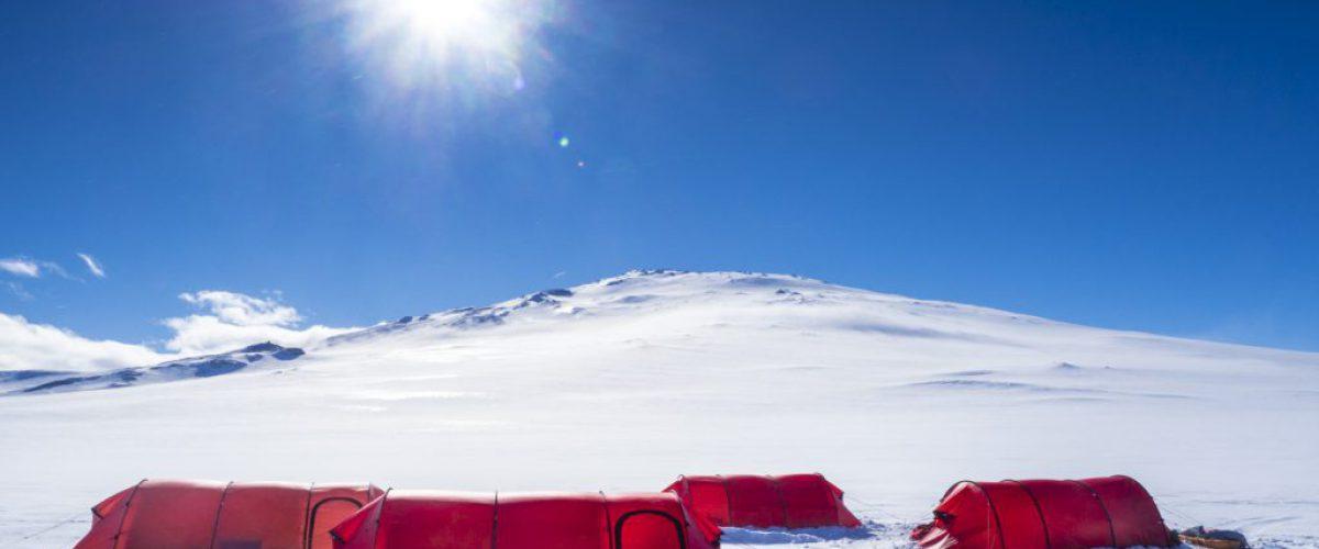 Mount Sidley basecamp