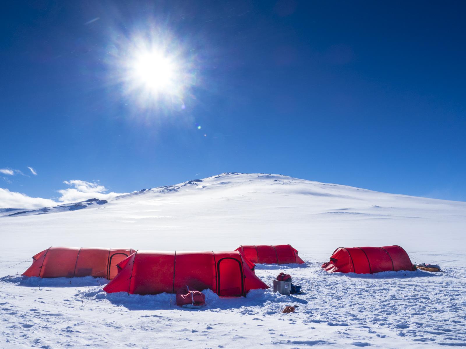 Zurück aus der Antarktis