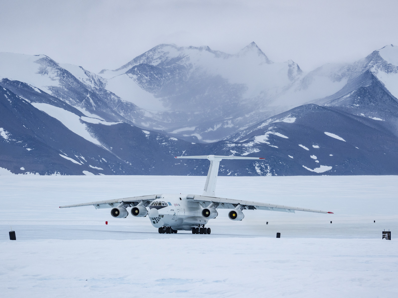 Airplanes in Antarctica