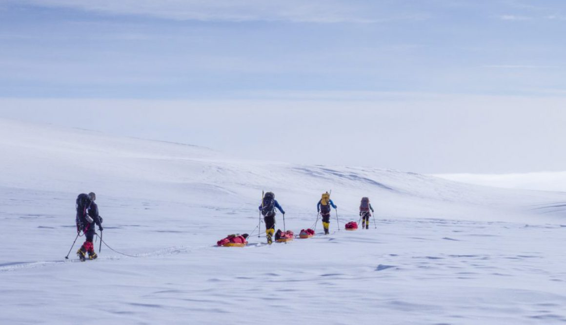 Descending to basecamp