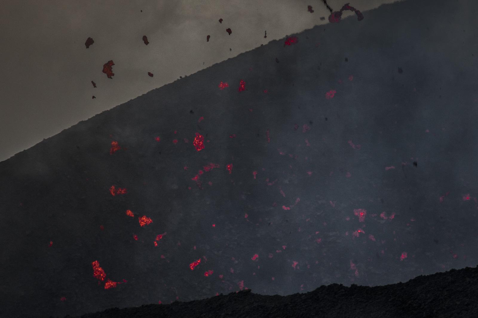 Gefahren am Vulkan