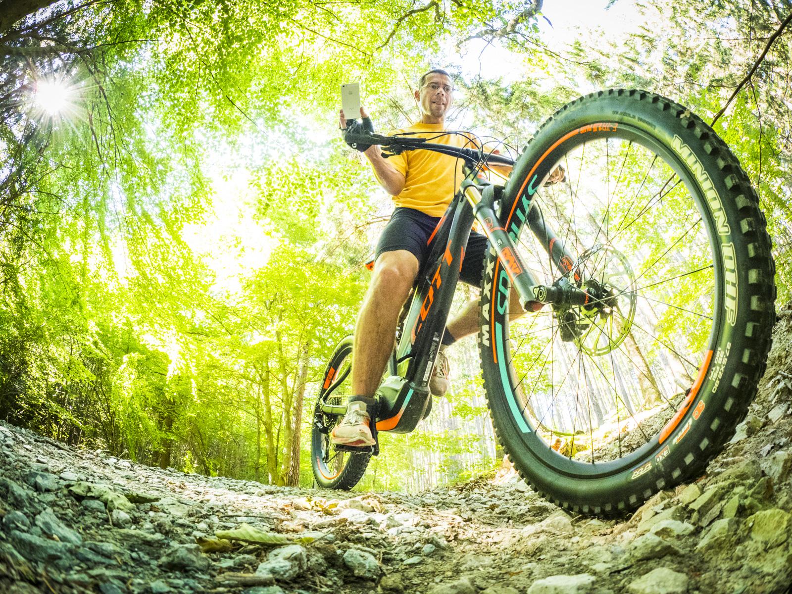 Erste e-Bike Taunustour