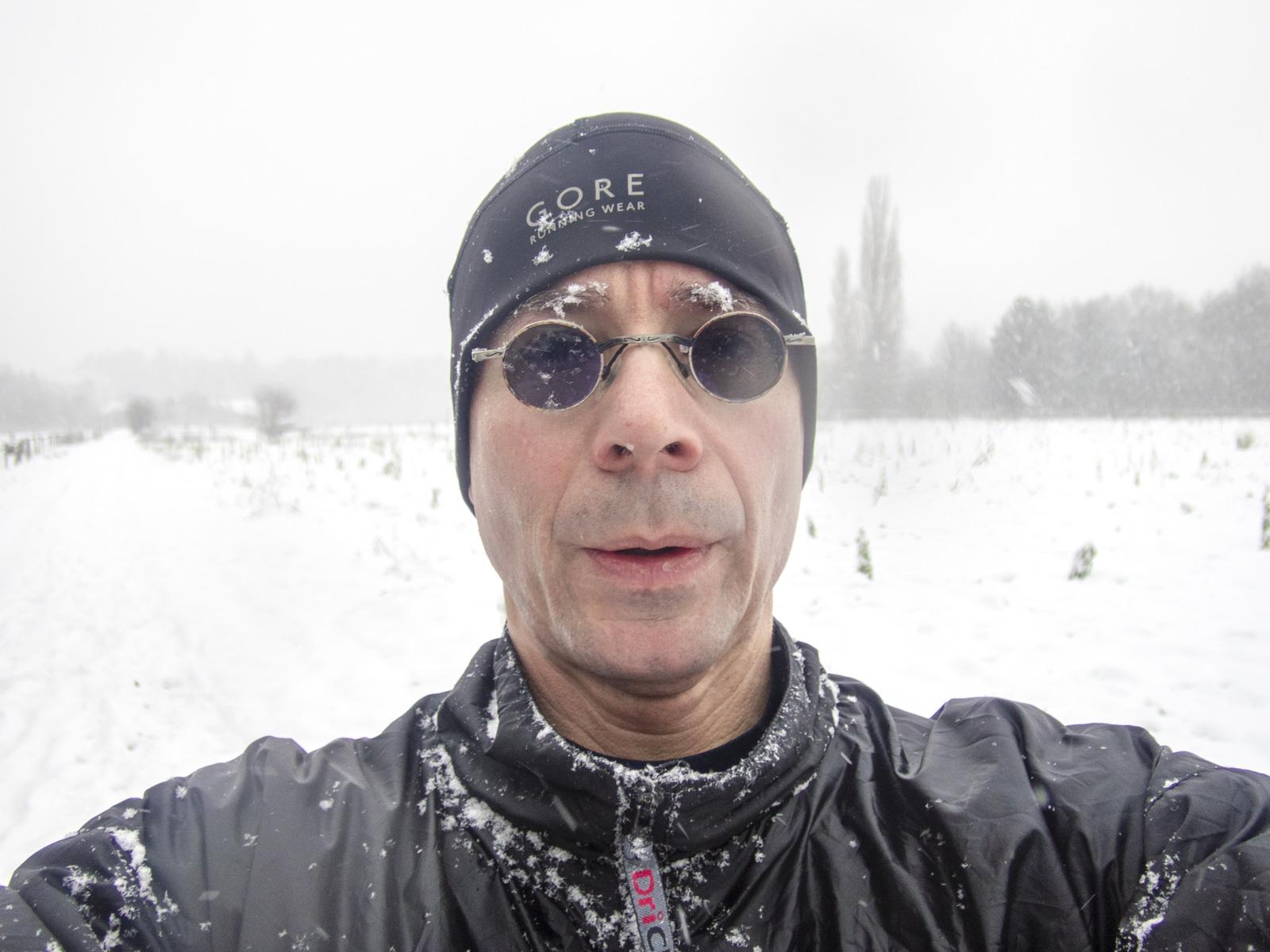 Trainingsstart im Schnee