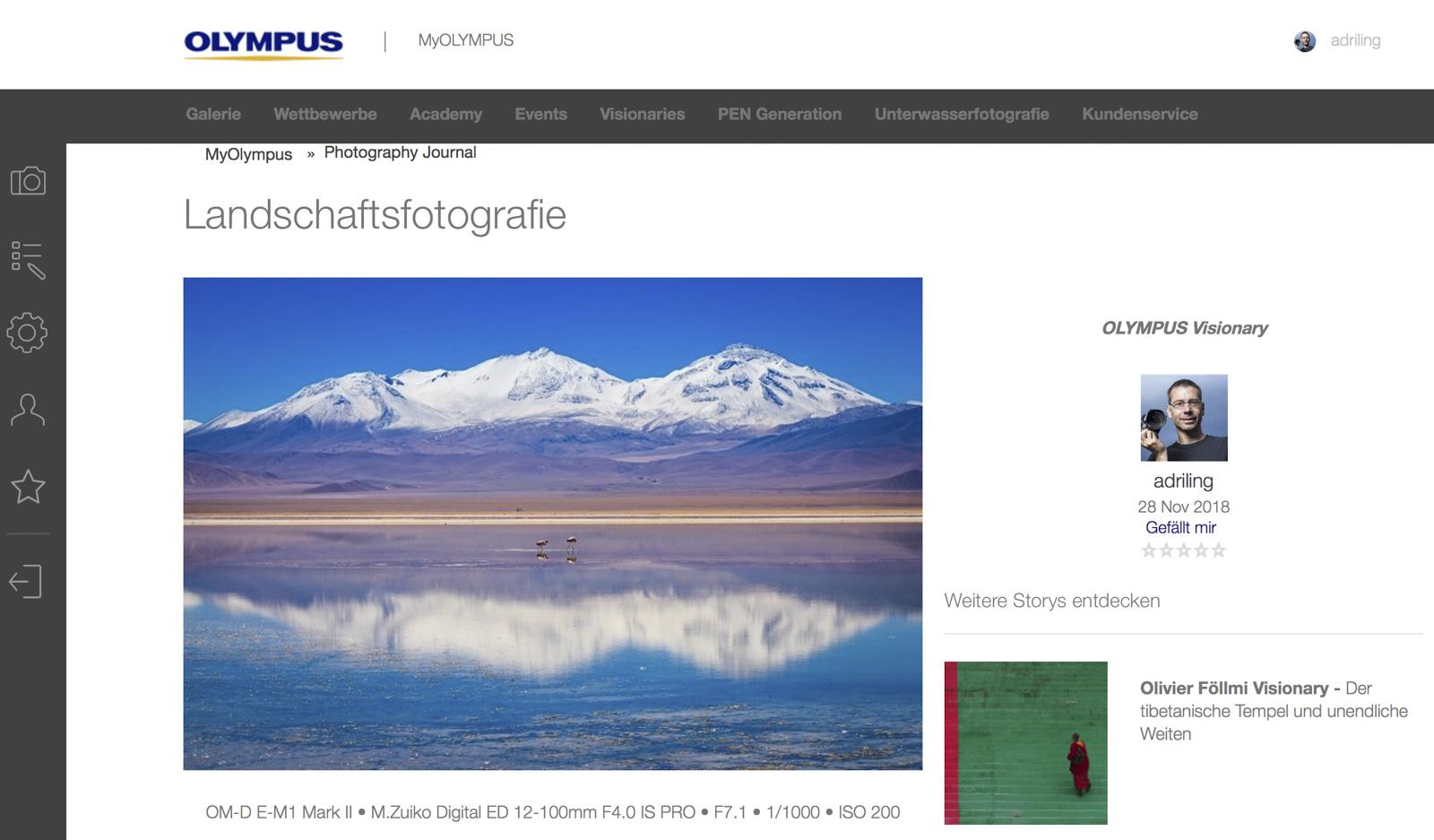 PhJ Olympus Landschaftsfotografie