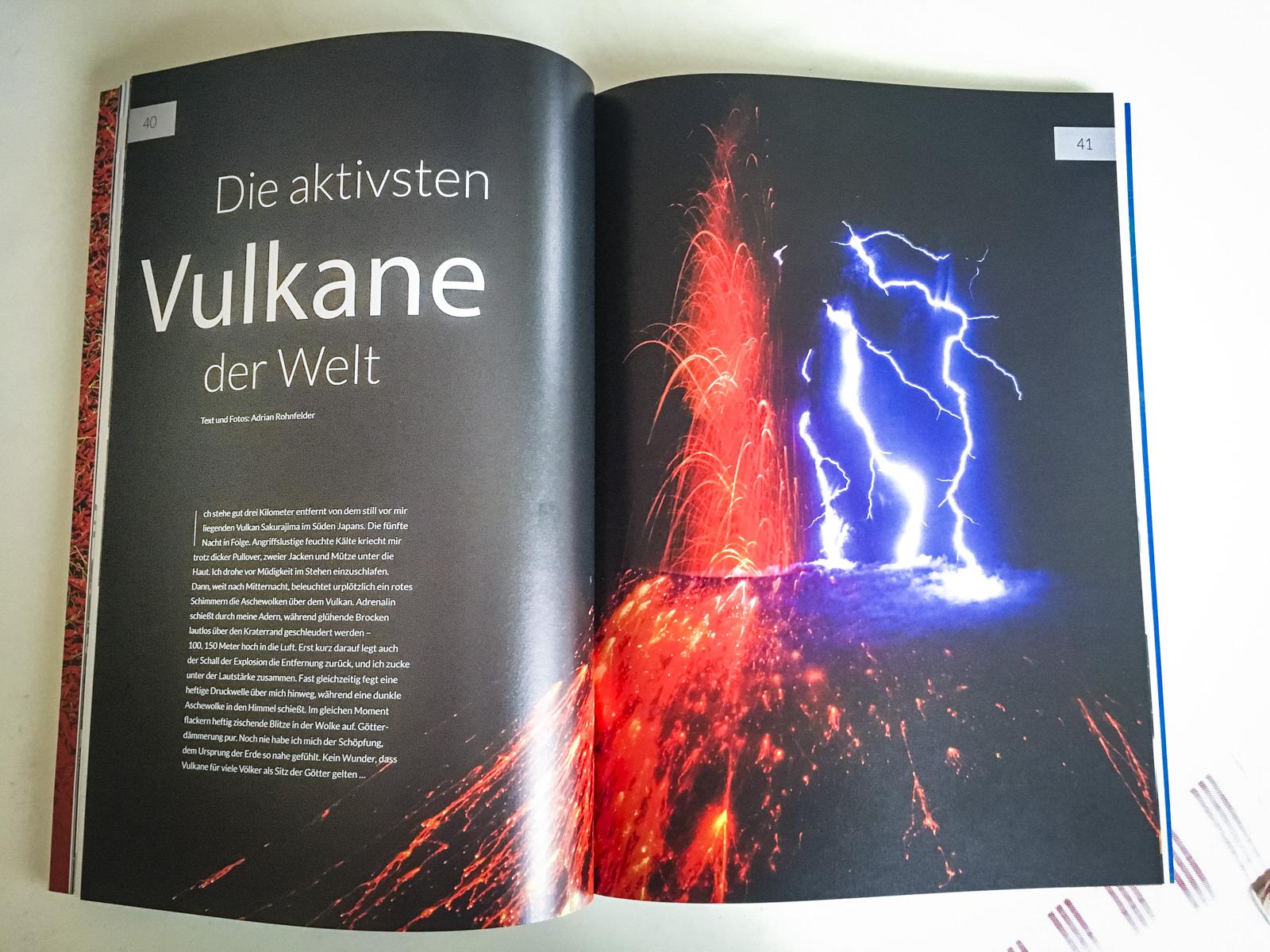 Mondberge Magazin - Vulkane