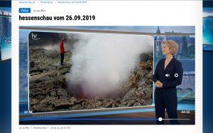 TV Beitrag in der Hessenschau