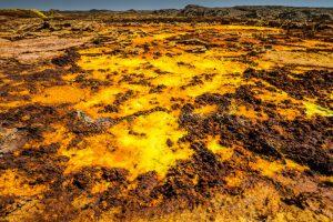 Dallol Vulkan, Äthiopien