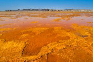 Salzwüste in der Danakil Senke, Äthiopien