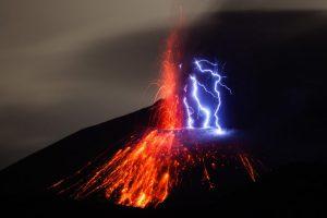 Sakurajima - Schmutziges Gewitter