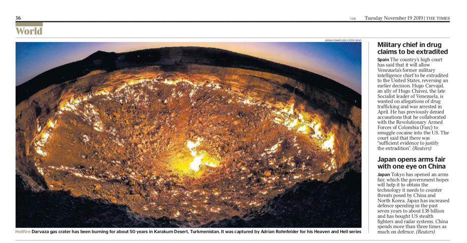 The Times - Tor zur Hölle