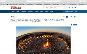 China News - Derweze Krater