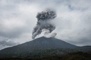 Sakurajima Vulkan, Japan