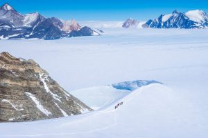Antarctic mountaineering