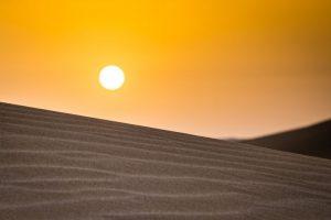 Sonnenaufgang bei Mesr, Iran