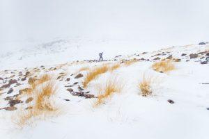 Schneesturm am Damavand
