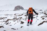 Schneesturm am Damavand auf 4.200m