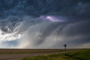 Gewitter bei Goodland, Kansas