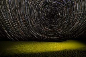 Nachts in der Karakum Wüste, Turkmenistan