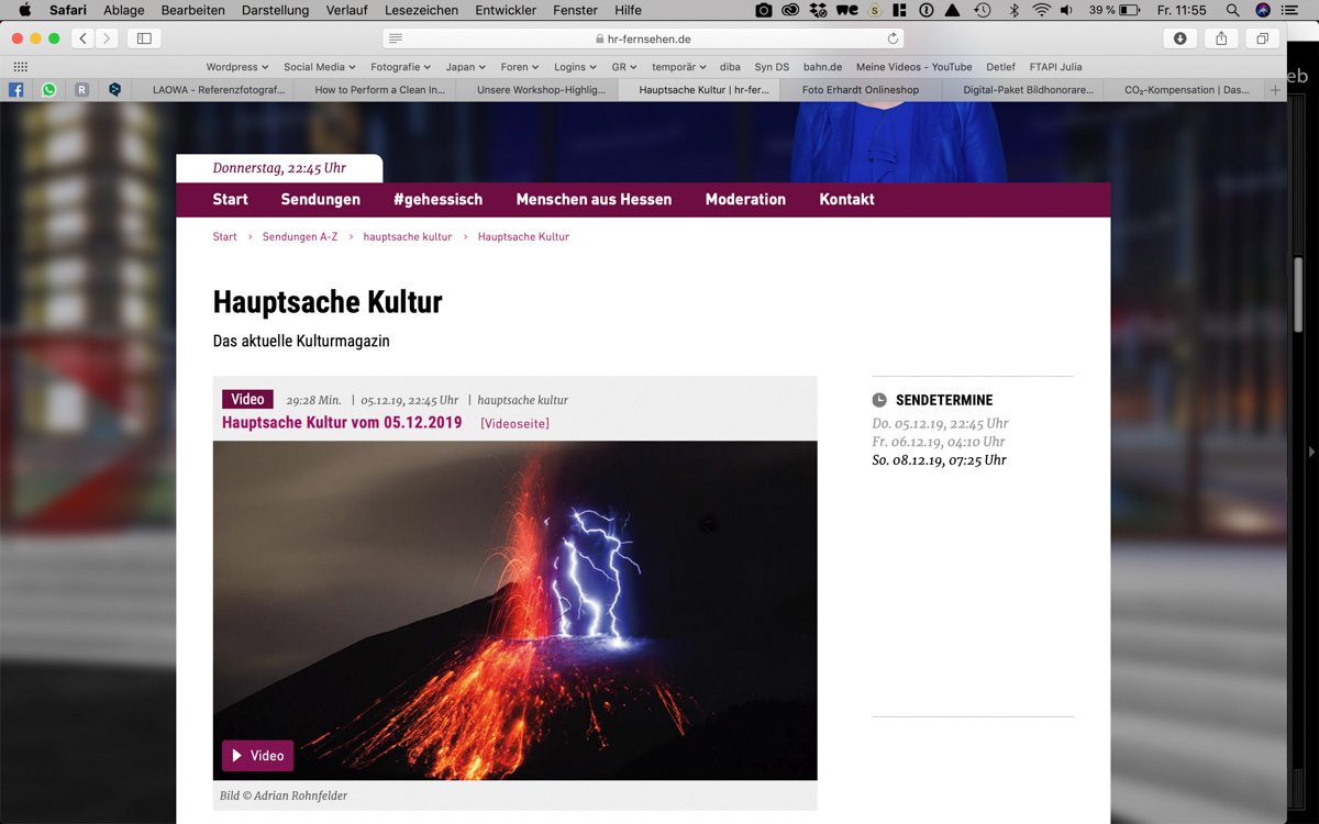 "TV Beitrag ""Hauptsache Kultur"""