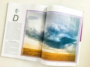 Artikel Stormchasing in Abenteuer und Reisen