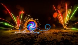 Lightpainting mit Feuerwerk (by ZOLAQ)
