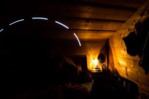 Test Lightpainting im HiRes Modus