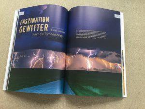 """Artikel """"Faszination Gewitter"""" im Mondberge Magazin"""