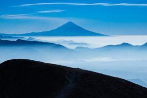 Popocatépetl Vulkan, Mexiko