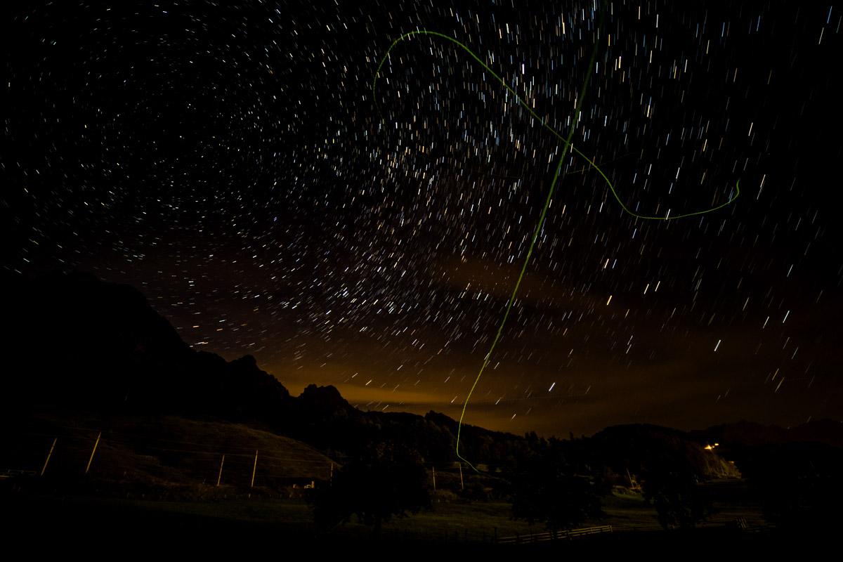 Lichtverschmutzung durch Glühwürmchen
