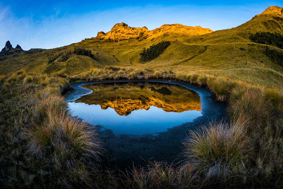 Mount Giluwe in Papua-Neuguinea