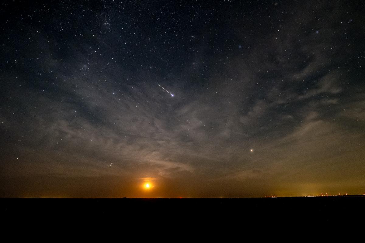 Sternschnuppen (Perseiden) fotografieren