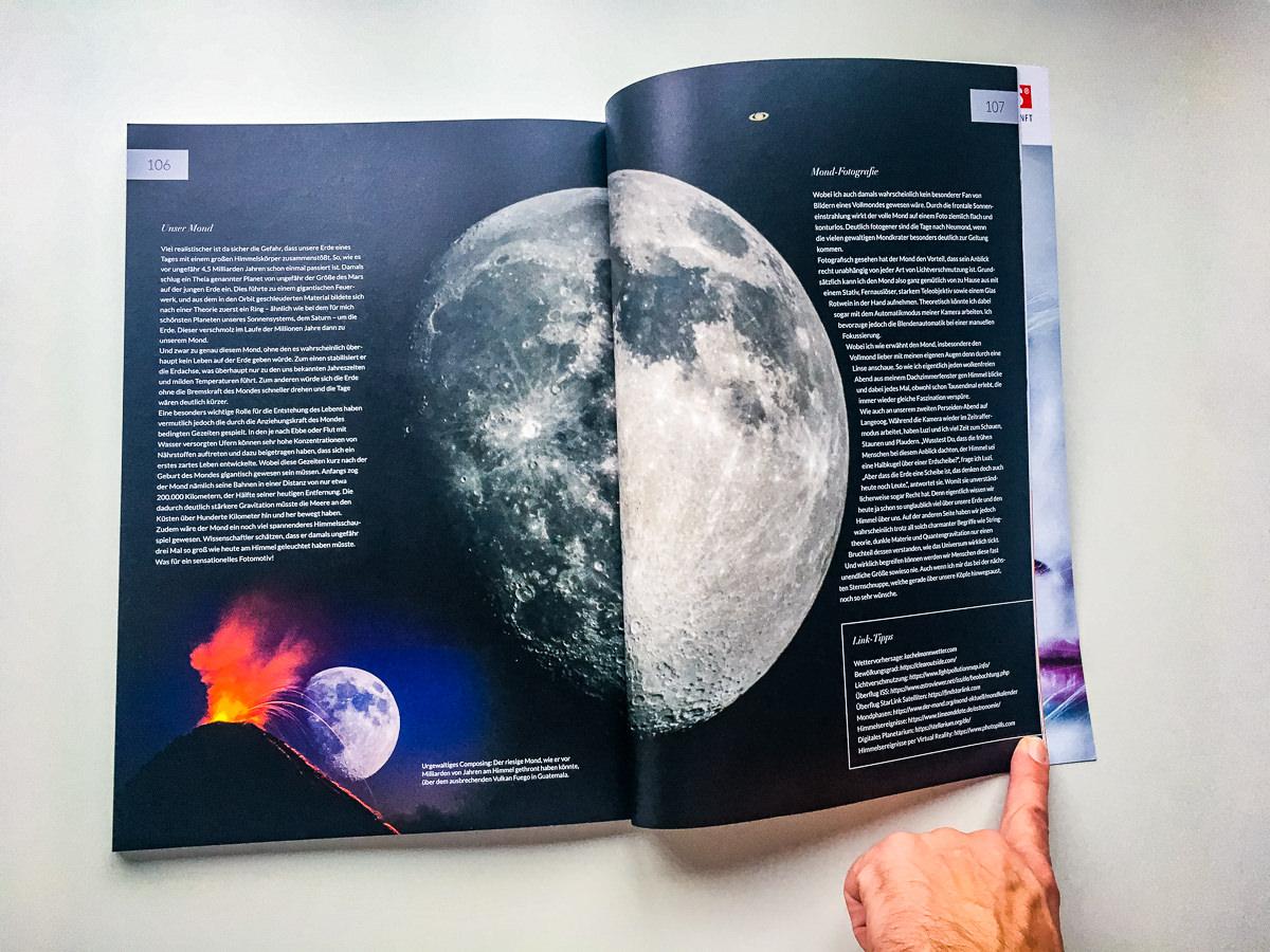 "Artikel ""Sternenhimmel Fotografie"" im Mondberge Magazin"