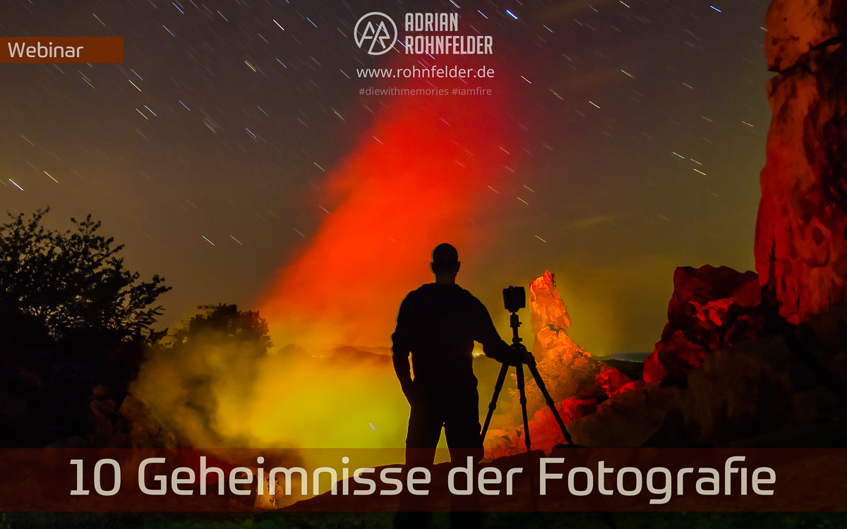 Webinar 10 Geheimnisse der Fotografie (fotogena Akademie)