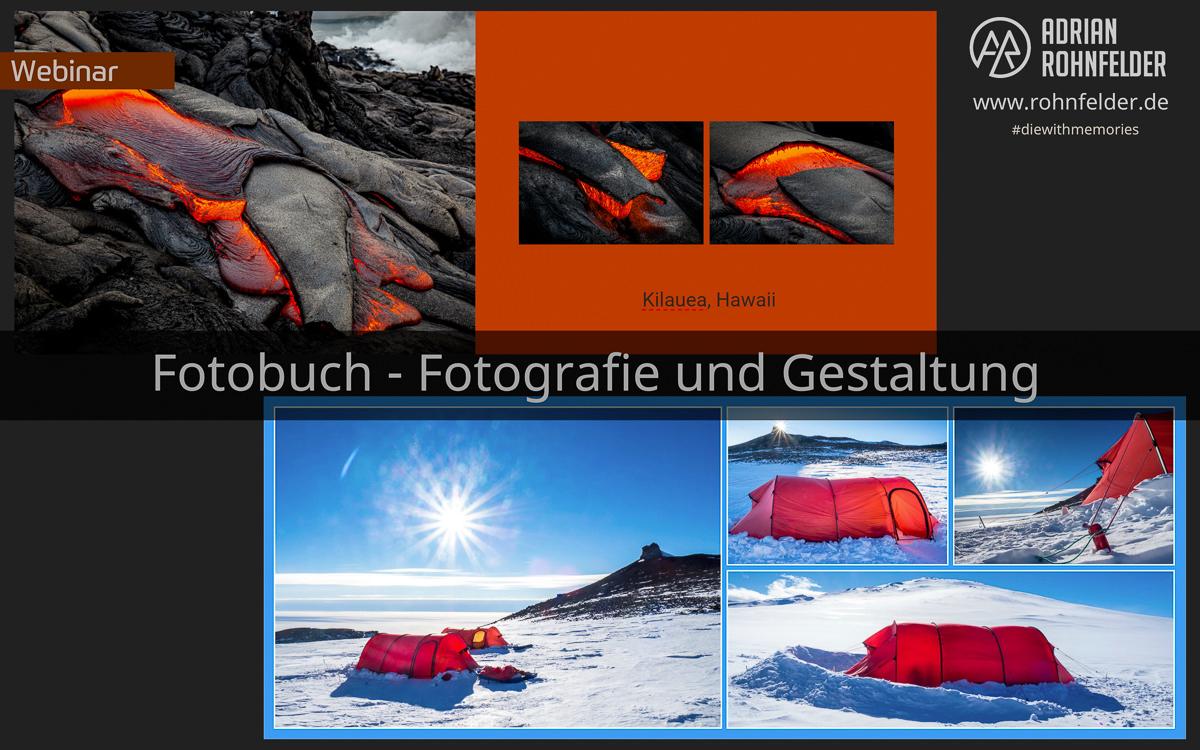 Webinar Fotobuch - Fotografie und Gestaltung (fotogena Akademie)