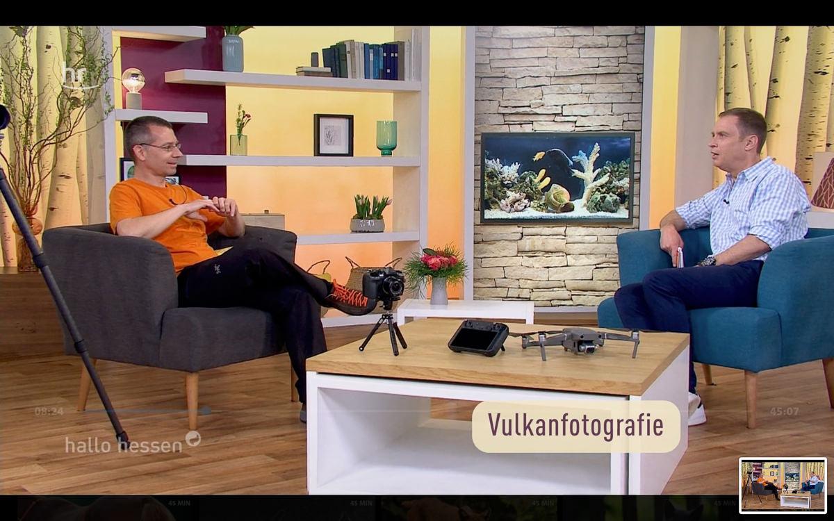 """TV-Gast bei """"Hallo Hessen"""" die Dritte :-)"""
