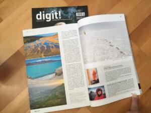 Bericht über mich im Profi Magazin digit