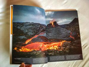 Fagradalsfjall Vulkan im Mondberge Magazin